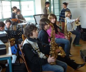 France:  Jazz College by Clare Doyle
