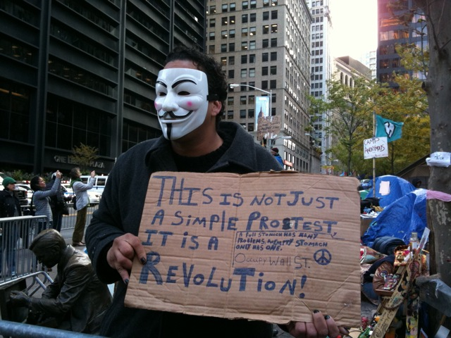 Anti-Capitalism and Occupy Protests, 2011.