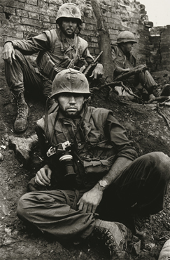 Don McCullin's 'Shaped by War'