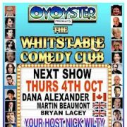 Whitstable Comedy Club. Review by Fiona Sinclair.
