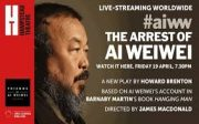 #aiww: The Arrest of Ai Weiwei – Hampstead Theatre, London – review by Carole Woddis.