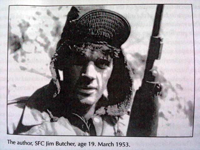 Jim Butcher, 19, Korean War 1953