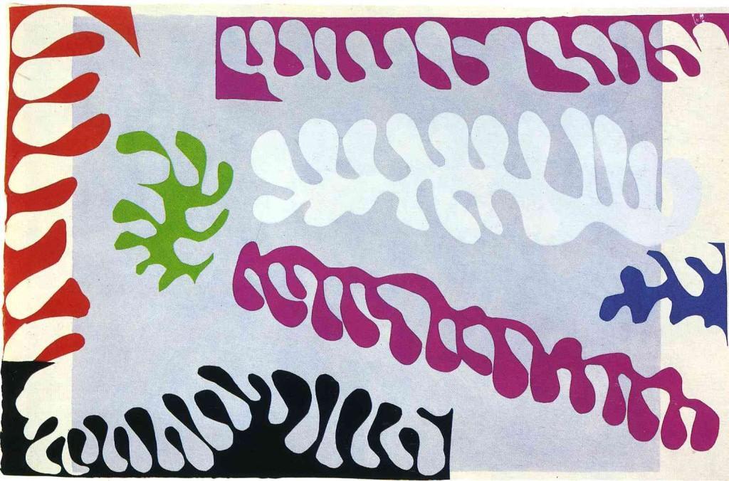 Henri Matisse, Lagoon, Plate XVII from Jazz, 1947