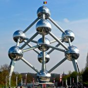 The Atomium, Belgium, by Barbara Lewis.