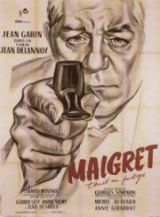 "Maigret Sets a Trap – ""Maigret Tend un Piege"". Barbican Cinema 3. Review by Julia Pascal."