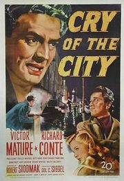 Cry of the City by Robert Siodmak, USA 1948.