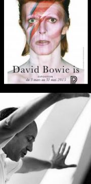 """David Bowie Is"" and Pierre Boulez retrospective, Philharmonie de Paris."