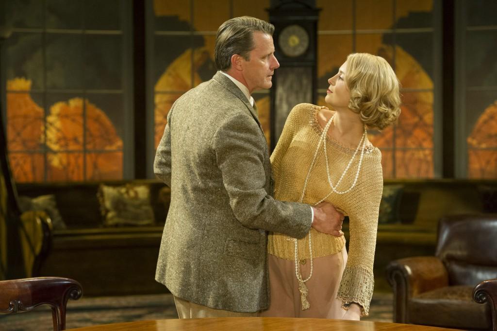 Anthony Calf (Wilfred Cedar), Yolanda Kettle (Lois). Photo credit: Richard Hubert Smith.