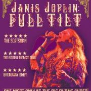 Janis Joplin: Full Tilt. Theatre Royal, Stratford East. Review by Julia Pascal.