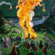 Nikolai Astrup: Painting Norway, at the Dulwich Picture Gallery. Review by William Marshall.