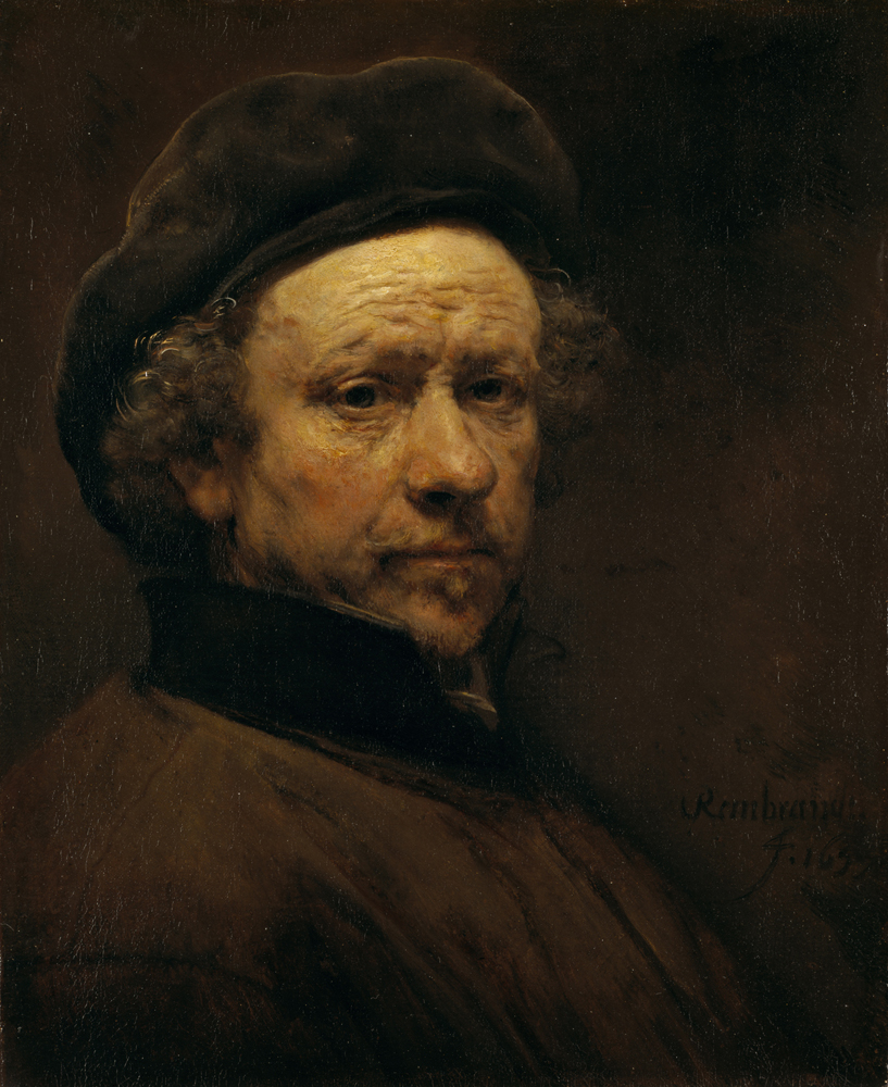 Rembrandt Self-Portrait, Aged 51, c.1657 Oil on canvas: 53.00 x 43.00 cm Edinburgh, Scottish National Gallery (Bridgewater Loan, 1945)