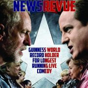 NewsRevue, Pleasance Courtyard, Edinburgh Fringe Festival. Review by Barbara Lewis.