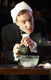 Charles Dickens' 'A Christmas Carol', The Vaults Theatre. Review by Barbara Lewis.
