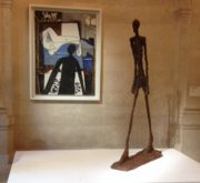 Picasso-Giacometti, Picasso Museum, Paris. Review by Barbara Lewis.