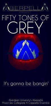 Aberpella '50 Tones of Grey', Edinburgh. Review by Barbara Lewis.