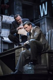 Ink, Duke of York's Theatre, London. Review by Barbara Lewis.