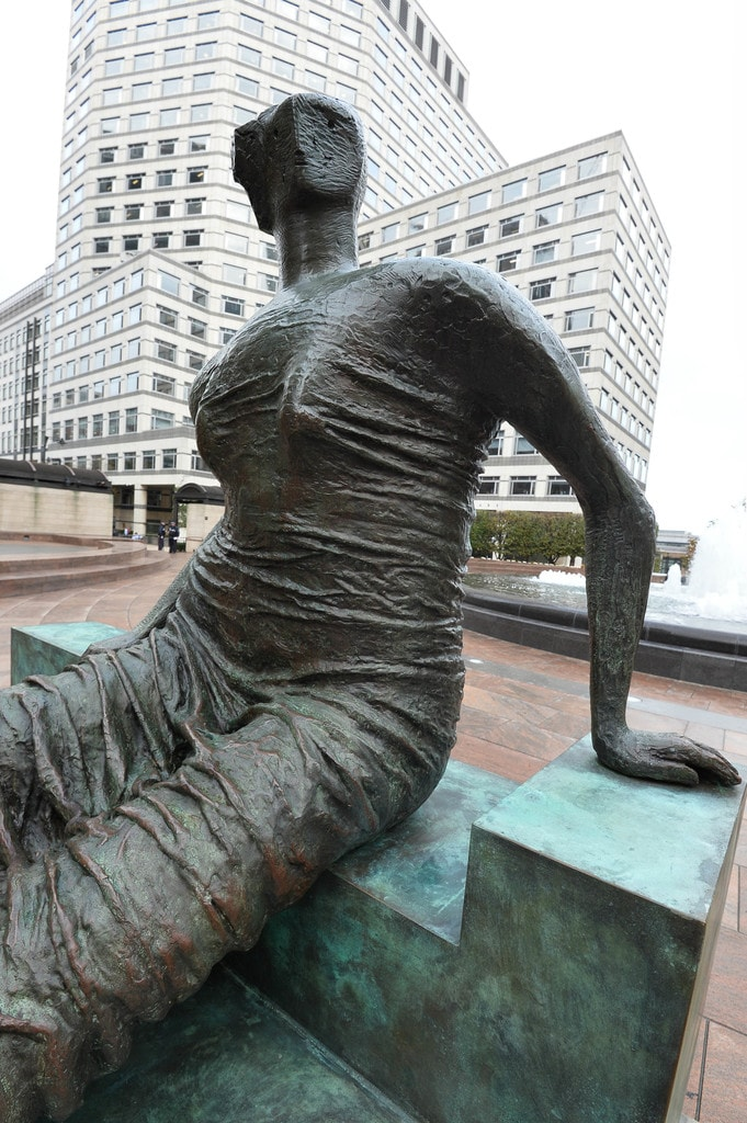 """Indomitable Spirit"" – an Exhibition at One Canada Square, Canary Wharf, by Jane McChrystal."
