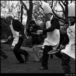 Parliamentary Pancake Race, Westminster