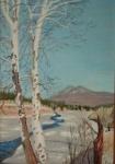 Landscape, Rev. Jerry Butcher - oil on canvas.