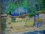 Blue Jar, Santorini, Greece, 2005