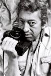 Serge Gainsbourg au Nikon 84 -® Pierre Terrasson