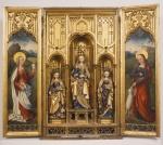 Altarpiece: Madonna and child ca 1500