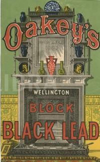 Victorian advertisement for Black Lead c 1885