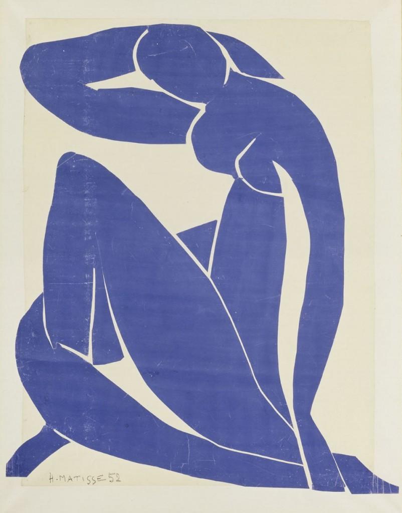 Henri Matisse, Blue Nude (II), 1952