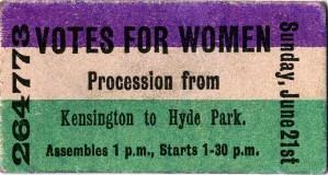 Votes-for-Women-ticket-recto
