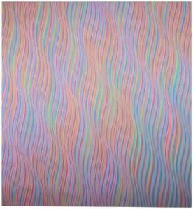 Image credit: Andante 1, 1980 © 2015 Bridget Riley.