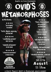 Ovid's Metamorphoses Pleasance King Dome, Edinburgh. Review by Barbara Lewis.