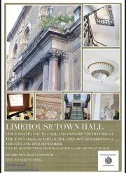 Excursion to Limehouse Town Hall, by Jane McChrystal.
