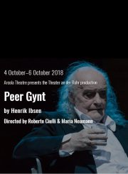 Peer Gynt, Henrik Ibsen, Arcola Theatre. Review by Barbara Lewis.