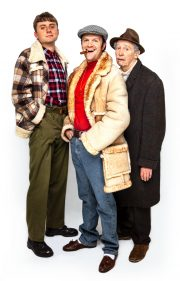 9. Ryan Hutton (Rodney), Tom Bennett (Del Boy), Paul Whitehouse (Grandad) - credit Trevor Leighton