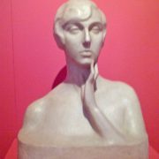 Nicola D'Antino, Bust of a woman (1918)
