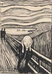 Edvard Munch 'Love and Angst'. Review by Barbara Lewis.