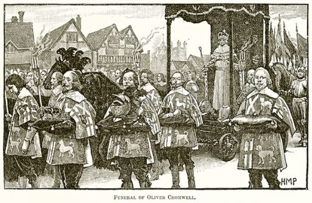 Funeral-of-Oliver-Cromwell
