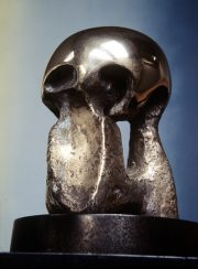 Henry Moore: The Helmet Heads, The Wallace Collection. Review by Barbara Lewis.