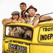 4. Tom Bennett (Del Boy), Ryan Hutton (Rodney), Paul Whitehouse (Grandad) - credit Trevor Leighton