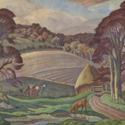 Ethelbert White, Sussex Landscape, undated. ©The Artist's Estate. Towner Eastbourne
