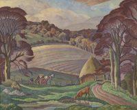 Ethelbert White, Sussex Landscape, undated. ©The Artist's Estate. Towner Eastbourne
