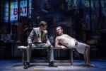 Richard Coyle (Larry lamb) and Justin Salinger (Brian McConnell)_credit Marc Brenner (2).