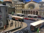 Gare de l'Est – part of the layout on the top floor of the Musee Rambolitrain
