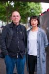 Director Stewart Laing and writer Pamela Carter