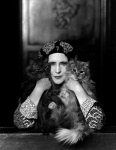 Elinor Glyn with her two cats Candide and Zadig, photograph by Paul Tanqueray, 1931, courtesy of a Private Collection.