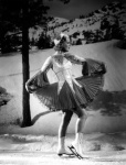 Figure skater Sonja Henie in One in a Million for Motion Picture Magazine. Photograph by Gene Kornman. October, 1936. Private collection.