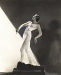 Genevieve Phillips wearing a sheer evening gown. Still taken from My Weakness 1933 Courtesy of Old Visuals Everett Collection Mary Evans.