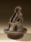 Spong Man, on loan from Norwich Museums Service.