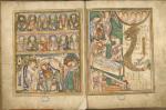 The Boulogne Gospels, on loan from Bibliothèque municipale, Boulogne-sur-mer.