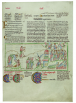 The Eadwine Psalter, on loan from Trinity College, Cambridge.